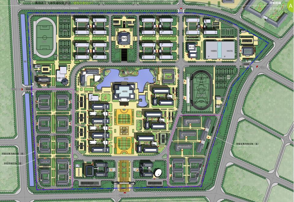 平度校区规划图